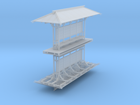 LAPAC Shelter N Scale 2 pk in Smooth Fine Detail Plastic