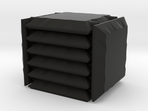3x3 Stone Square Set in Black Natural Versatile Plastic