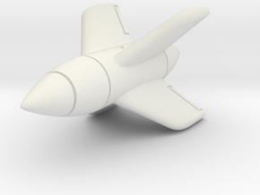 (1:144) Enzian E-5 in White Natural Versatile Plastic