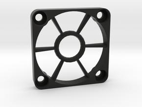 40mm Open-Center Fan Grill in Black Natural Versatile Plastic