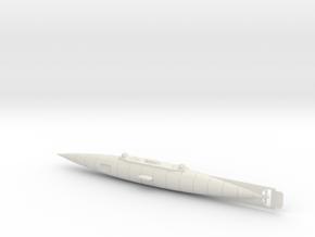 The Original Nautilus Submarine by Jules Verne in White Natural Versatile Plastic