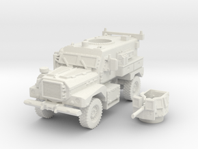 MRAP cougar 4x4 scale 1/100 in White Natural Versatile Plastic