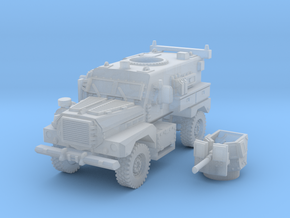 MRAP cougar 4x4 scale 1/160 in Smooth Fine Detail Plastic