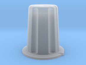 16mm rotary control knob (6mm shaft) in Smooth Fine Detail Plastic