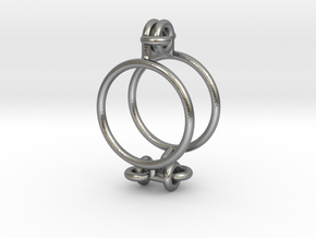 Marble Cage in Natural Silver (Interlocking Parts)