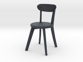 Miniature Calhoun Patio Dining Chair - Wayfair in Black PA12: 1:12