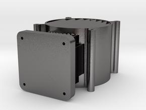 Dual120mm in Polished Nickel Steel