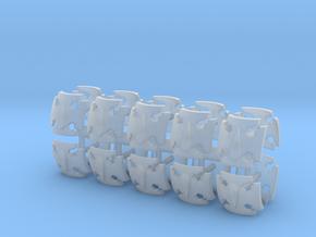 Blood Drop Elites Shoulder Pad icons x20 in Smooth Fine Detail Plastic