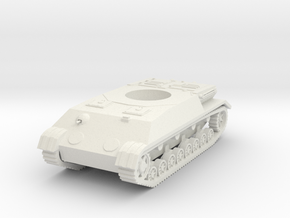 Panzer IV K (Hull) scale 1/56 in White Natural Versatile Plastic