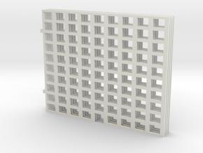 Miniature Building 01 in White Natural Versatile Plastic: 1:450 - T