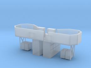 1/96 HMS Garland 20mm Bridge in Smooth Fine Detail Plastic