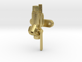 """3/4"""" Scale Retainer Valve 3/4"""" Scale in Natural Brass"""