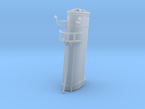 1/72 HMS Garland funnel 2 in Smooth Fine Detail Plastic