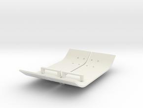 RCN180 Side Plates For MST CFX in White Natural Versatile Plastic