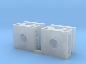 5mm Port Adapter for CW PoTP Voyager in Smooth Fine Detail Plastic