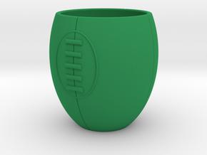Espresso Rugby in Green Processed Versatile Plastic