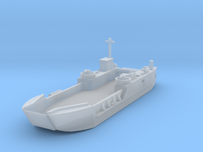 1/700 LCT6 full hull in Smooth Fine Detail Plastic