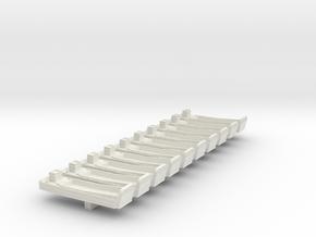1/400 LCM-6 in White Natural Versatile Plastic