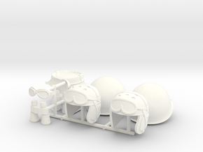 GOGGLES JP2  in White Processed Versatile Plastic
