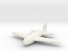 (1:144) Flügelgranate in White Natural Versatile Plastic
