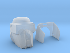 "Scout trooper (Kashykkk) Helmet for 6"" in Smooth Fine Detail Plastic"
