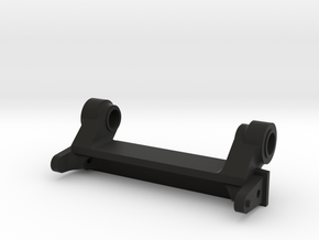 Axial Honcho Rear Cage Pivot Mount in Black Natural Versatile Plastic
