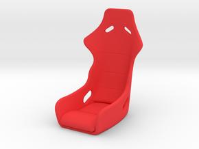 1/10 RACE SEAT in Red Processed Versatile Plastic