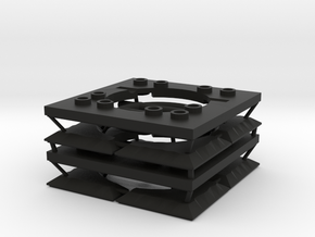 Sewer Grate Set in Black Natural Versatile Plastic