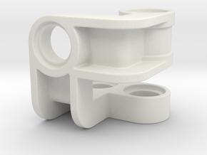 bevel gear reinforcement in White Natural Versatile Plastic
