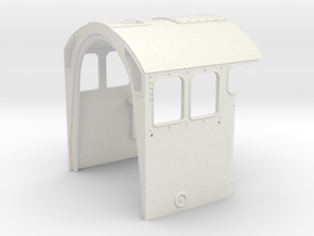 A0 - A1/A3 Cab - EXP - Reduced Loading Gauge in White Natural Versatile Plastic