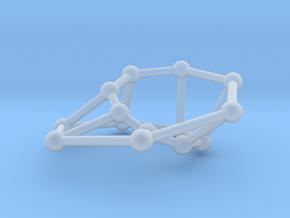 Möbius ladder M_14 in Smooth Fine Detail Plastic