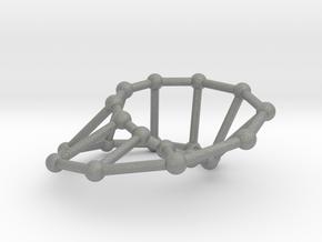 Möbius ladder M_20 in Gray Professional Plastic