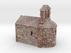 C-HORelCh03 - Small romanesque chapel fullcolor in Matte Full Color Sandstone