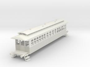 o-87bas-wcpr-bogie-coach in White Natural Versatile Plastic