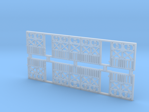 o-87-wcpr-end-balcony in Smooth Fine Detail Plastic