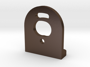 Losi 1/24 Micro Motor Mount in Polished Bronze Steel