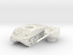 M4A3 76 scale 1/100 in White Natural Versatile Plastic