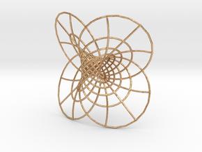 Hopf Fibration  in Natural Bronze