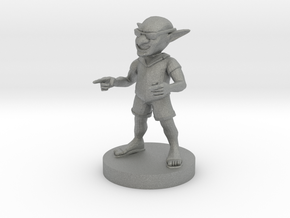 Swag Goblin in Gray Professional Plastic