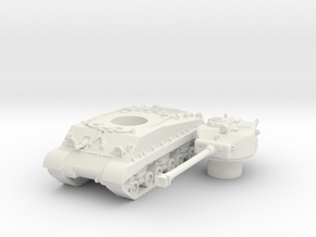 M4A3E8 76 scale 1/100 in White Natural Versatile Plastic