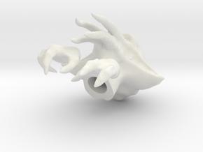 BF style Quarren in 1:6 scale RESCALED in White Natural Versatile Plastic