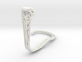 Cobra in White Natural Versatile Plastic