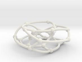 F26A graph on torus in White Natural Versatile Plastic