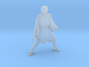 1/72 Luke in Jedi Master Outfit for Space Diorama in Smoothest Fine Detail Plastic
