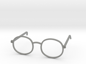 Glasses for the Near-Sighted Turdle in Gray PA12