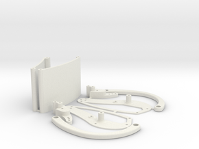 Stingray V5 Chassis in White Natural Versatile Plastic