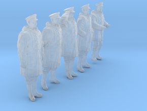 1/30 Royal Navy DC Petty OffIcer Set301-01 in Smooth Fine Detail Plastic