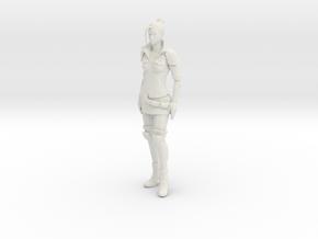 Printle V Femme 1043 - 1/18 - wob in White Natural Versatile Plastic