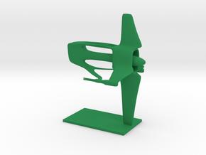 Brakiri - Avioki Cruiser (2.1 x / 1.5 y / 2.7 z) in Green Processed Versatile Plastic