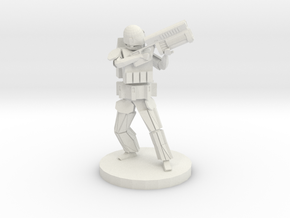Future Special Operative in White Natural Versatile Plastic